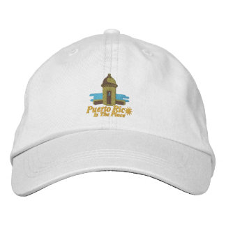 Puerto Rico Is The Place Embroiderd Hat