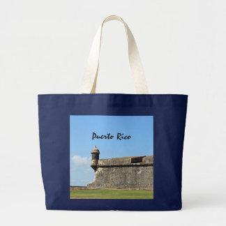 Puerto Rico Jumbo Tote Bag