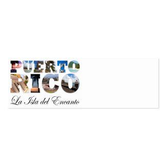 Puerto Rico La Isla Del Encanto Business Cards