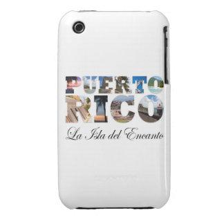 Puerto Rico La Isla Del Encanto Case-Mate iPhone 3 Cases