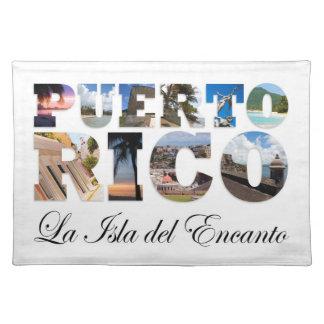 Puerto Rico La Isla Del Encanto Place Mats