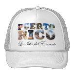 Puerto Rico La Isla Del Encanto Collage / Montage Cap