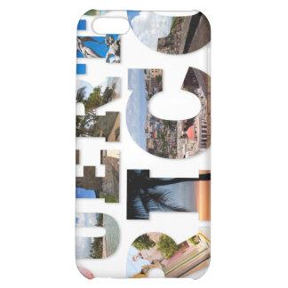 Puerto Rico La Isla Del Encanto Collage / Montage iPhone 5C Case
