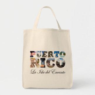 Puerto Rico La Isla Del Encanto Collage / Montage Bags