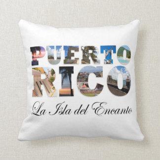 Puerto Rico La Isla Del Encanto Throw Pillows