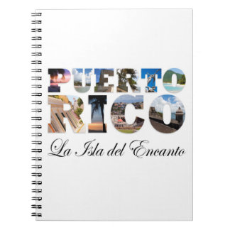 Puerto Rico La Isla Del Encanto Notebook