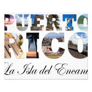 Puerto Rico La Isla Del Encanto Photo Art