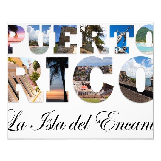 Puerto Rico La Isla Del Encanto Photo Print