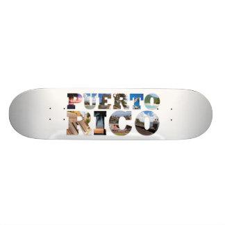 Puerto Rico Landmarks Deck Skate Decks