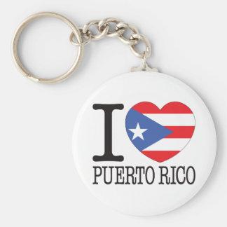 Puerto Rico Love v2 Key Ring