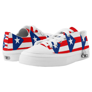 Puerto Rico Low Tops