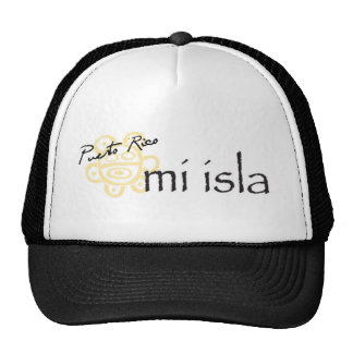 Puerto Rico Mi Isla Hats