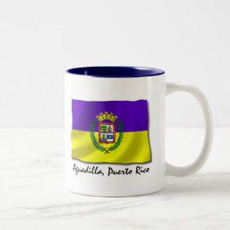Puerto Rico Mug: Aguadilla Two-Tone Coffee Mug