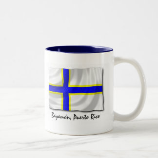 Puerto Rico Mug: Bayamon Two-Tone Coffee Mug