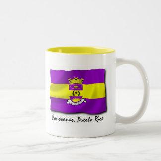 Puerto Rico Mug: Canovanas Two-Tone Coffee Mug