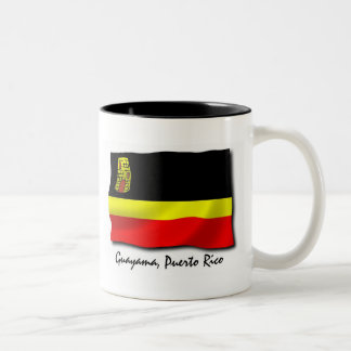 Puerto Rico Mug: Guayama Two-Tone Coffee Mug