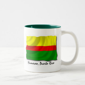Puerto Rico Mug: Humacao Two-Tone Coffee Mug