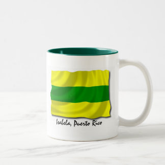 Puerto Rico Mug: Isabela Two-Tone Coffee Mug
