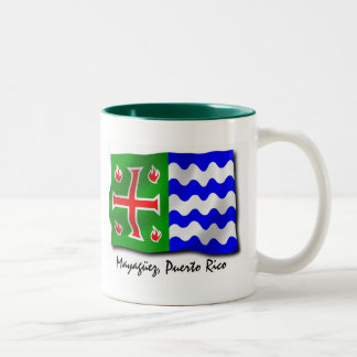 Puerto Rico Mug: Mayaguez Two-Tone Coffee Mug