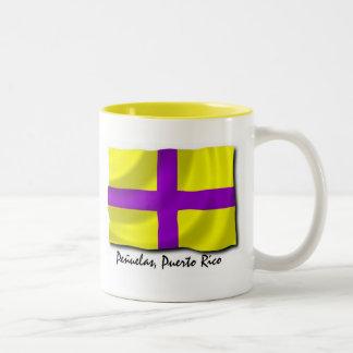 Puerto Rico Mug; Penuelas Two-Tone Coffee Mug