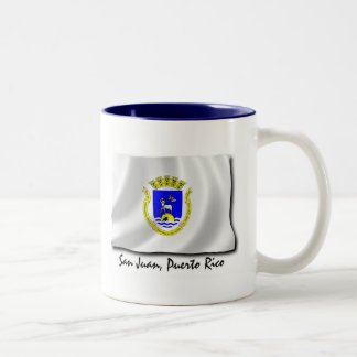 Puerto Rico Mug: San Juan Two-Tone Coffee Mug