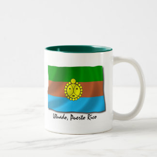 Puerto Rico Mug: Utuado Two-Tone Coffee Mug