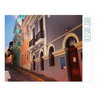 Puerto Rico: Old San Juan Postcard