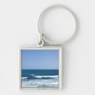 Puerto Rico, Old San Juan, seascape Key Ring