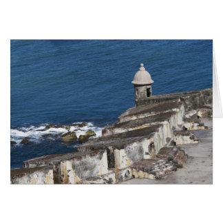 Puerto Rico, Old San Juan, section of El Morro Card