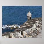 Puerto Rico, Old San Juan, section of El Morro Poster