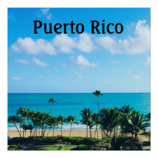 Puerto Rico Poster