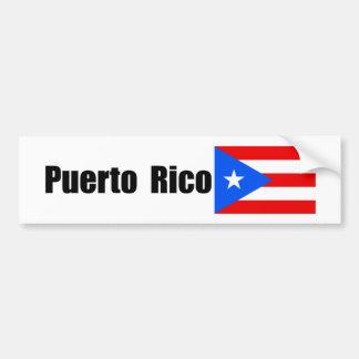 Puerto Rico, Puerto Rican flag Bumper Sticker