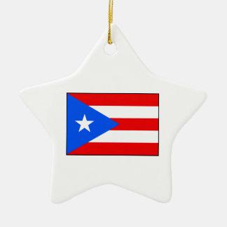 Puerto Rico – Puerto Rican Flag Ornament