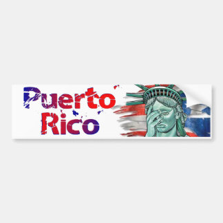 Puerto Rico Relief. Shame on You Trump! Bumper Sticker