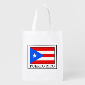 Puerto Rico Reusable Grocery Bag