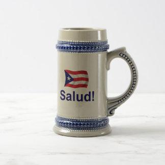Puerto Rico Salud! Beer Stein