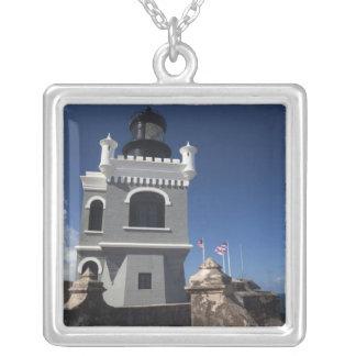 Puerto Rico, San Juan, Old San Juan, El Morro Silver Plated Necklace