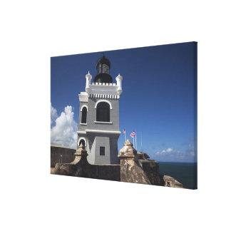 Puerto Rico, San Juan, Old San Juan, El Morro Stretched Canvas Prints