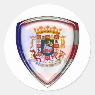 Puerto Rico - Seal on Shield