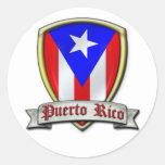 Puerto Rico - Shield2 Sticker