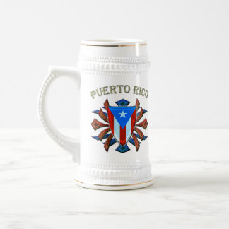 Puerto Rico - Shield Beer Stein