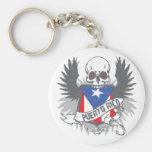 Puerto Rico Star Keychain