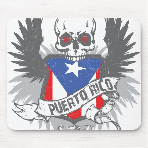 Puerto Rico Star Mousepad