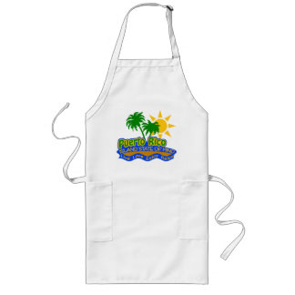 Puerto Rico State of Mind apron - choose style