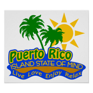 Puerto Rico State of Mind poster