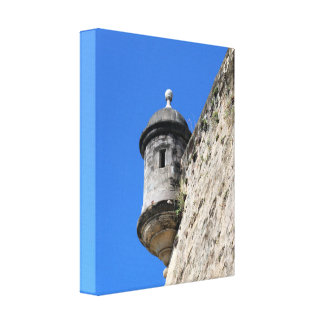 Puerto Rico Stretched Canvas Print