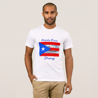 Puerto Rico  Strong Hurricane Flag Shirt