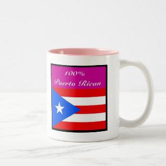 puerto rico T-shirt, And etc Two-Tone Coffee Mug