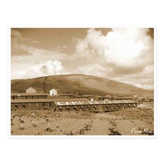 Puerto Rico Vintage: Labor Camp Postcard