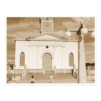 Puerto Rico Vintage: San Sebastian Church Postcard